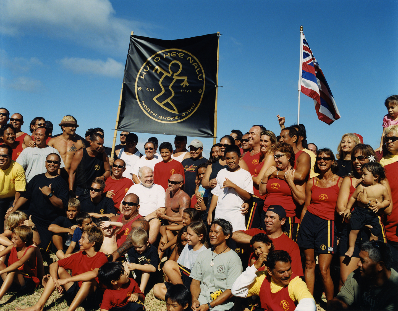 Visiting Eddie Rothman and his friends at Waimea Bay, Hawaii. 2005.