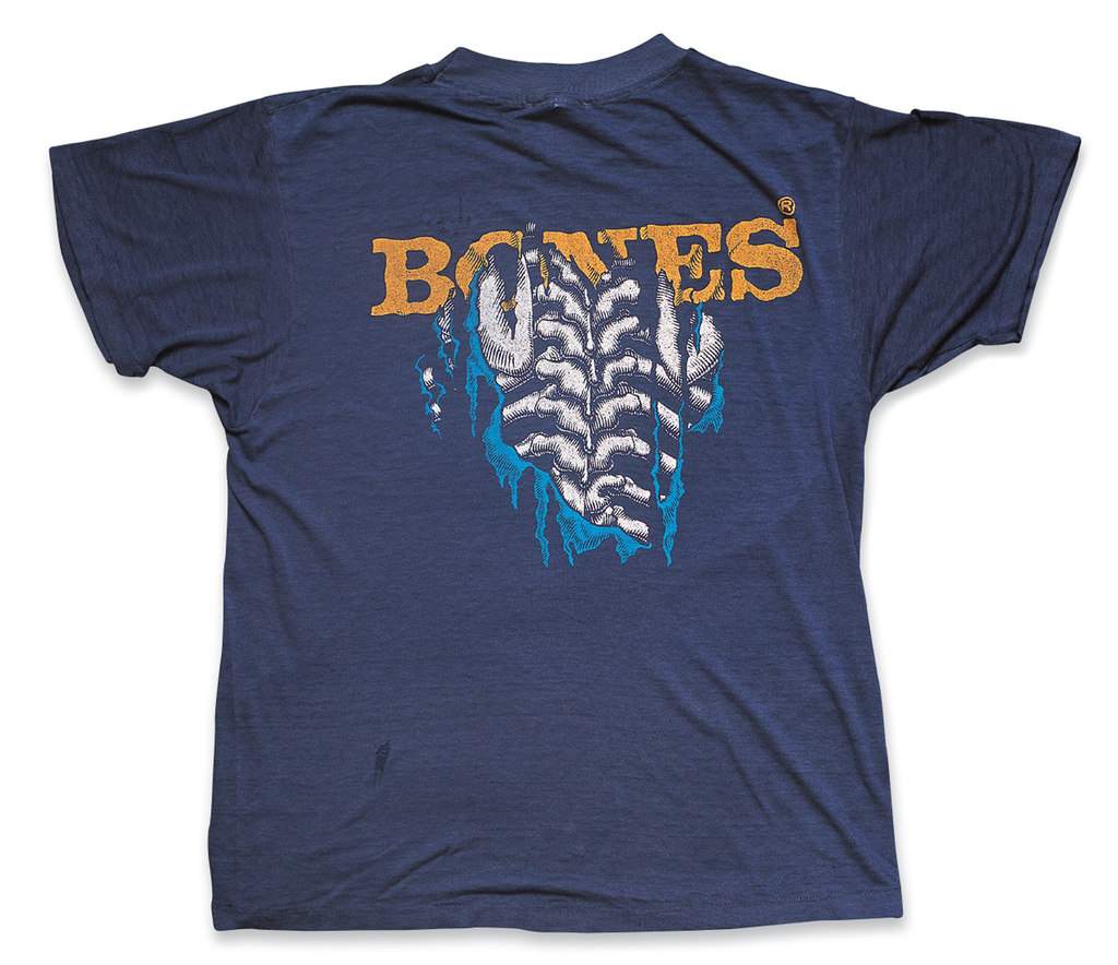 """""""Bones""""a. Mid or Late 1980s, b. Powell Peralta, c. Mike Folmer"""