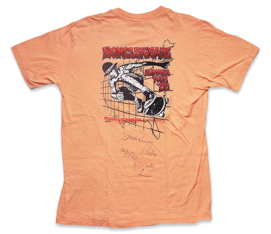 """Bones Brigade:Summer Tour 1988"" a. Summer, 1988, b. Powell Peralta (Stedman), c. Daisuke Amari"