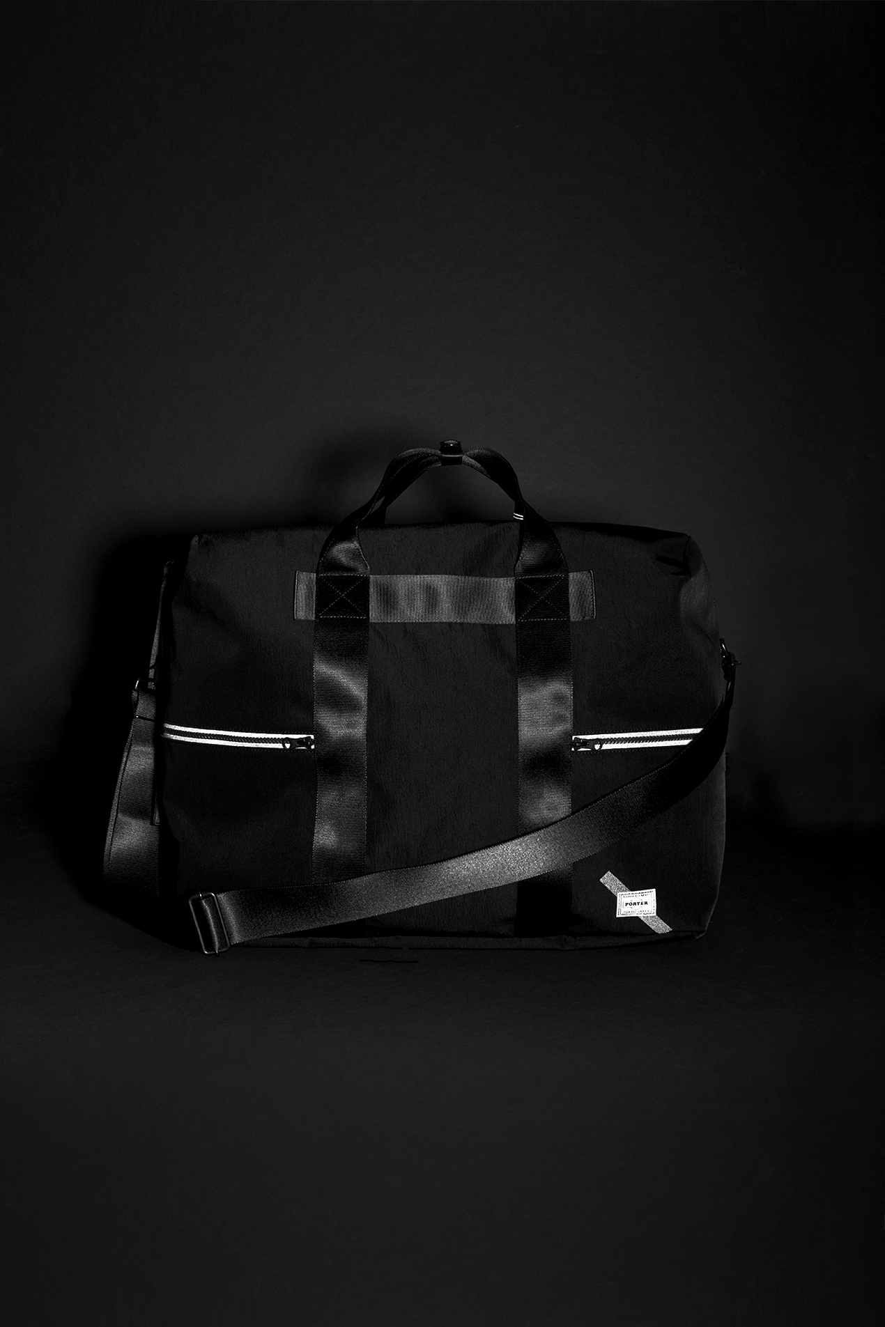 Reflective Weekender Duffle Bag