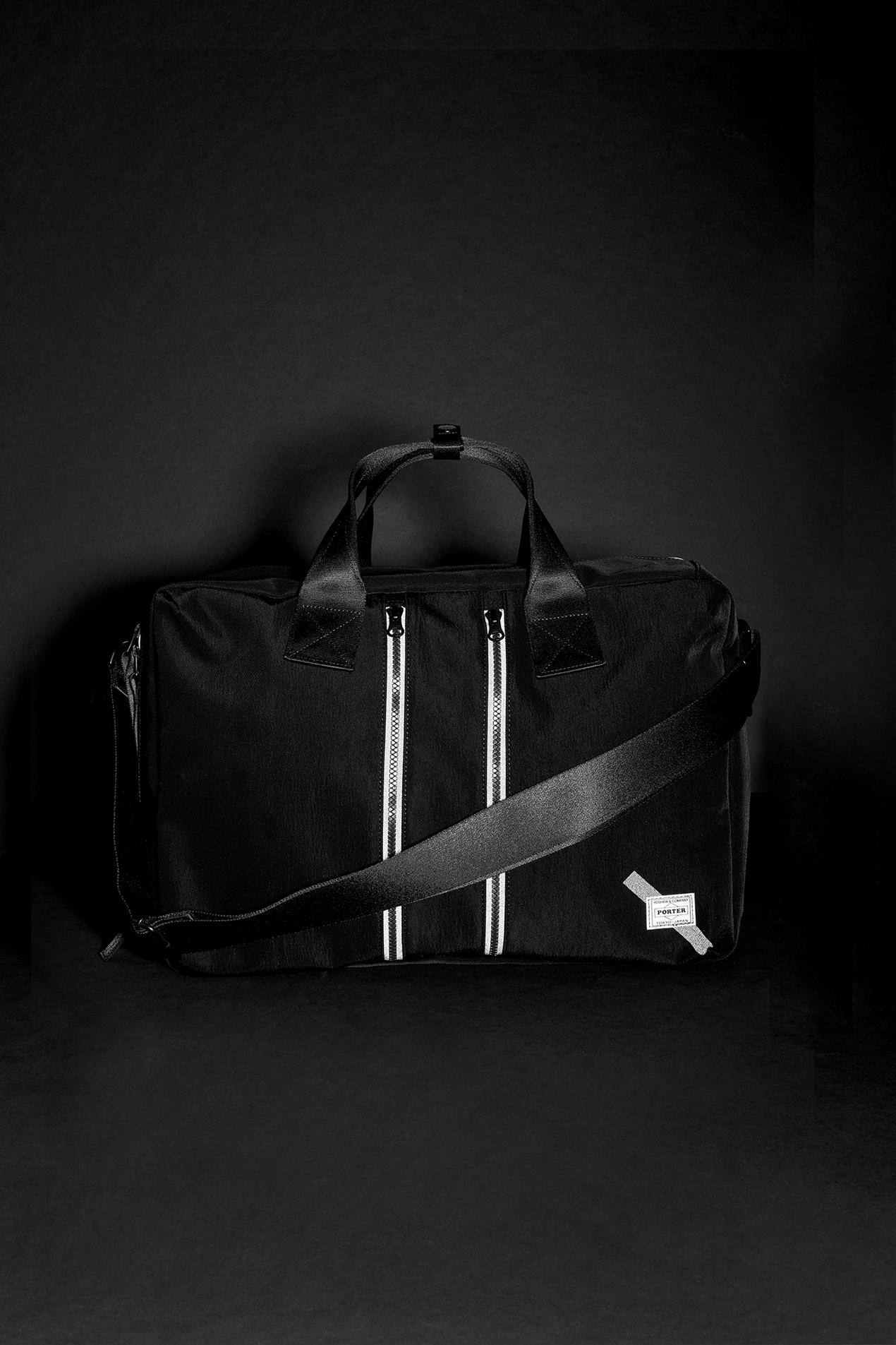 Reflective 3-Way Briefcase