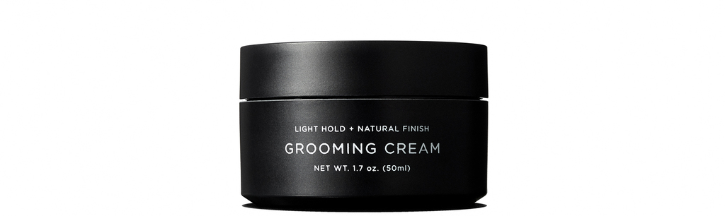 For a natural finish and light hold, the Grooming Cream offers texture and shine to any look.