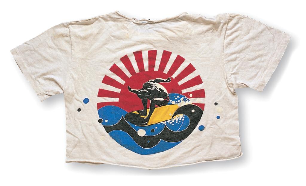 """Mickey Munoz Surfboard Creative""a. Micky Munoz Surfboard Creative in the early '80s b. ?, c . Mickey Munoz"