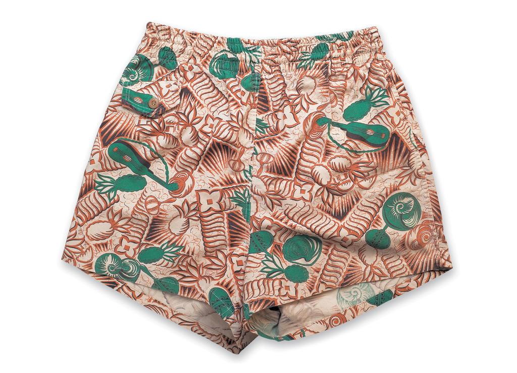 """""""Pineapple & Ukulele"""" a: 1940s, b: Jantzen (Portland, OR) c: Werner Werwise (Retro City Fashions, Inc.)"""