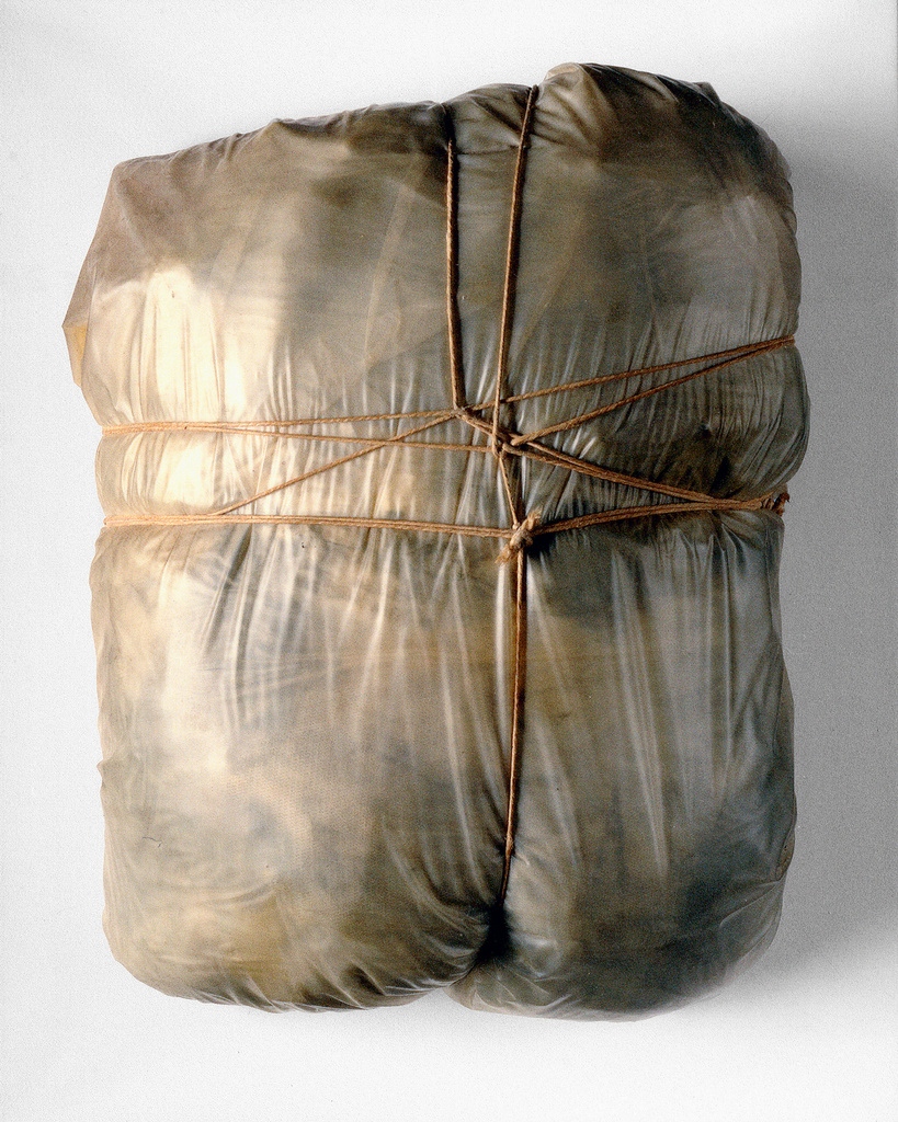 Wrapped Package, 1963.