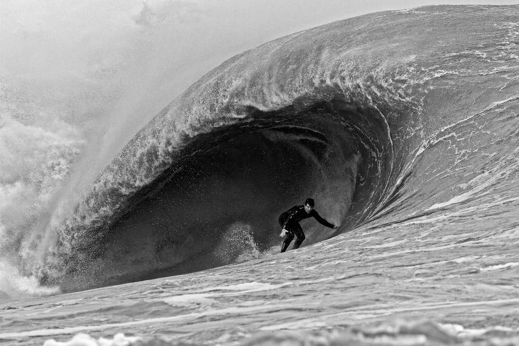 Matt Kechele, Hurricane Sandy, Florida.Photo: Mez