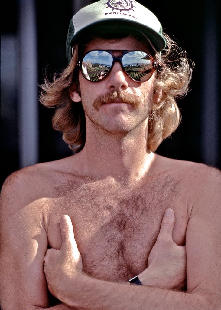 Mez in Hawaii, 1978.