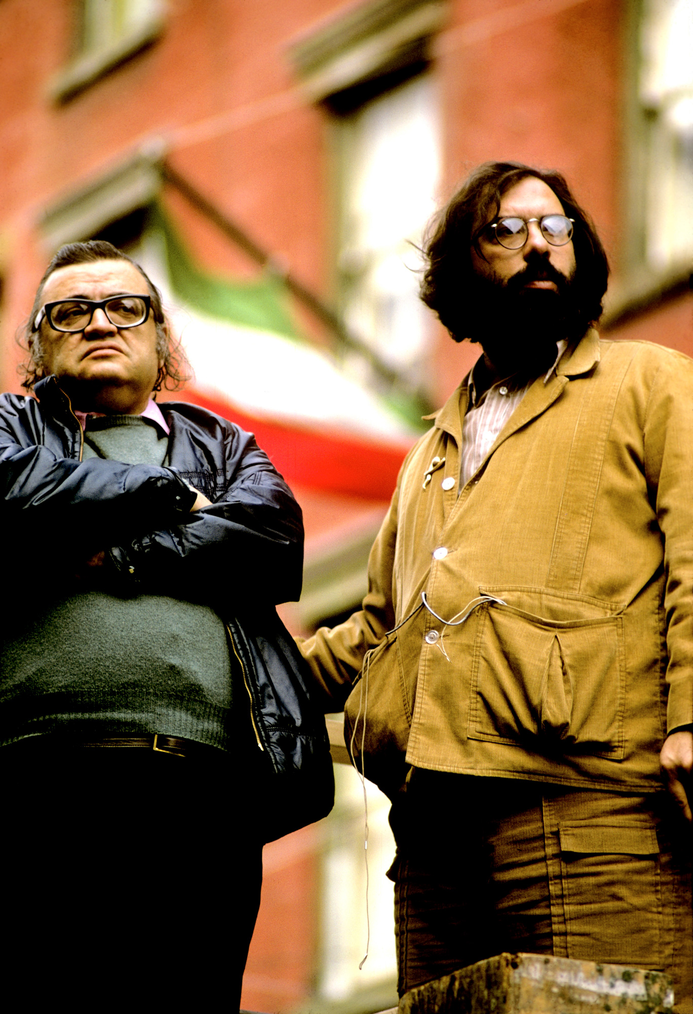 Mario Puzo and Francis Ford Coppola, Photo: Steve Schapiro/Corbis