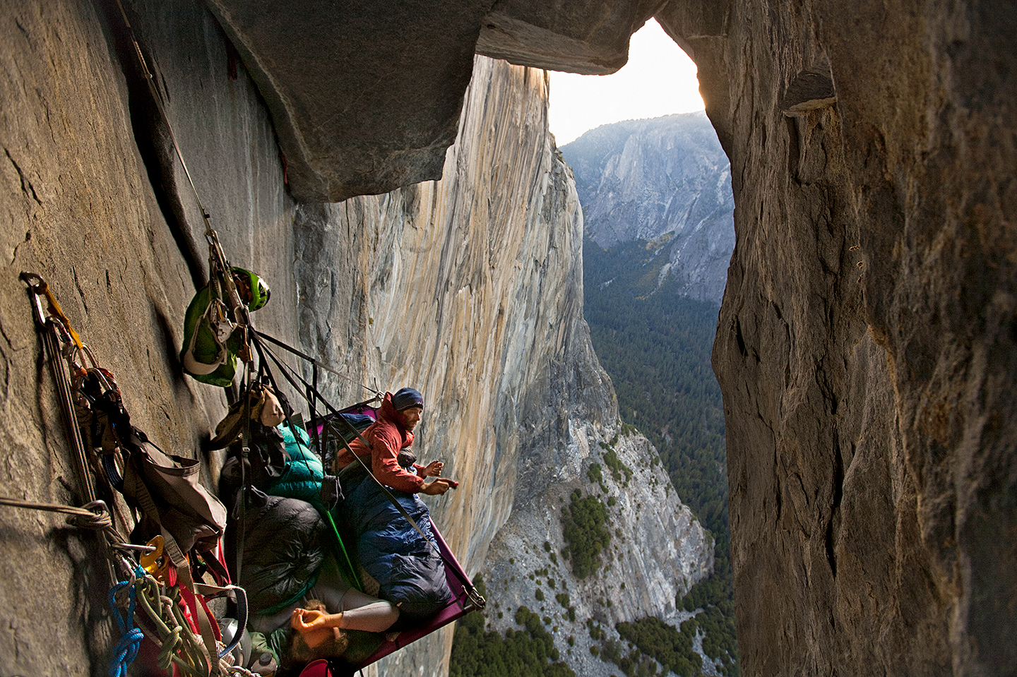 Keith Malloy and Timmy O'Neil. The North American Wall, El Capitan, Yosemite Valley, California