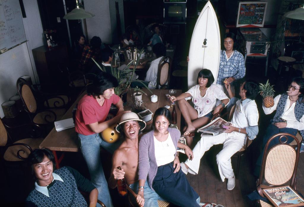 Kaoru Ohon, Pineapple Betty's, Tokyo1977