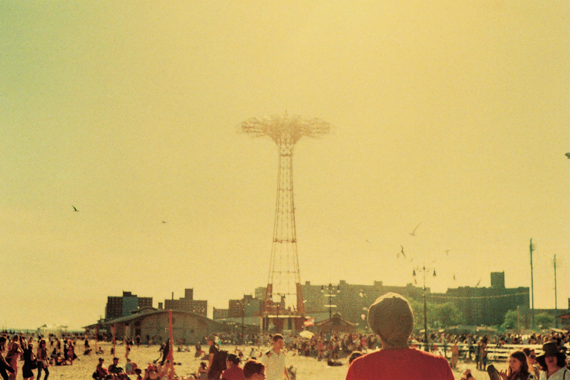 Hot, hot summer, Coney Island.