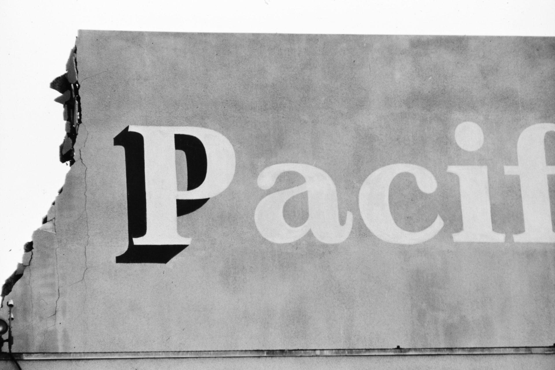 Pacific Ocean Park signage