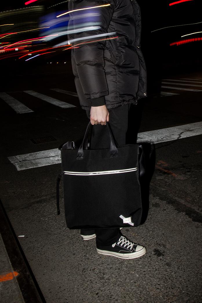 Reflective 2-Way Tote Bag