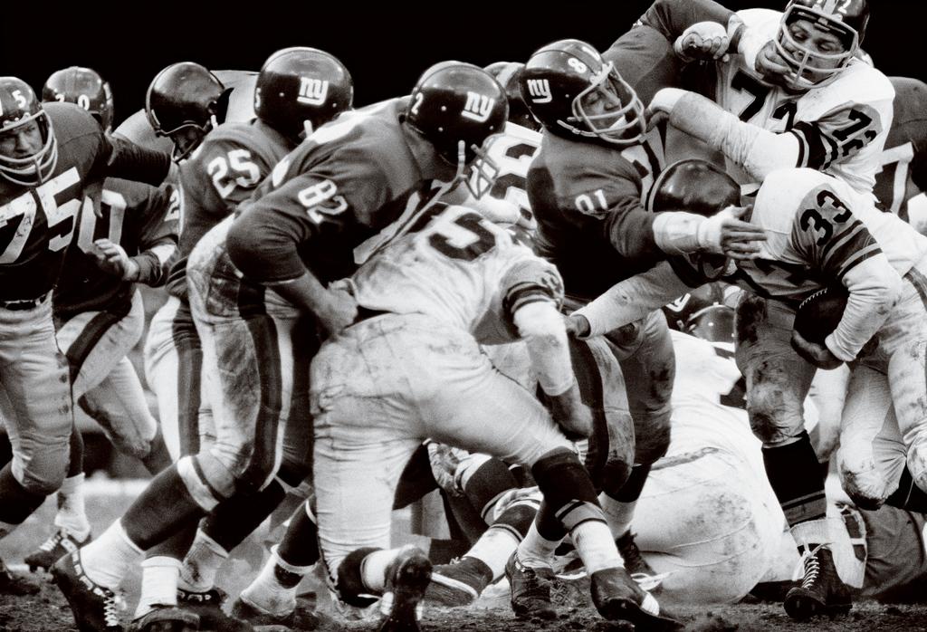 Steelers vs. Giants, NY, 1963