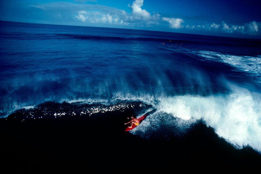 Hanalei Bay, Kauai, HI, 1975