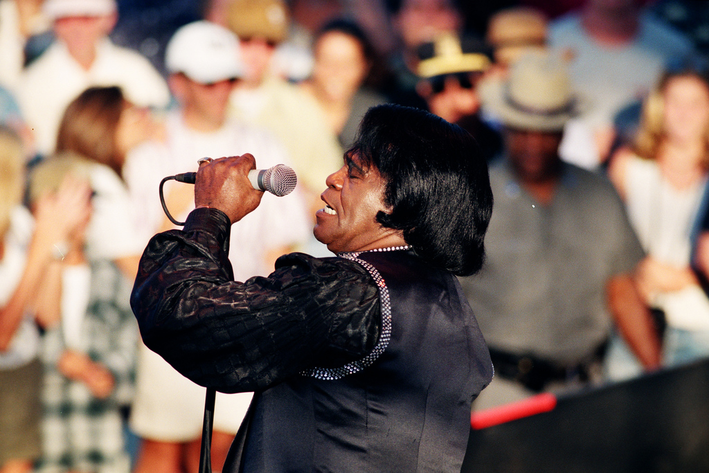 James Brown, Montauk, NY, 1998